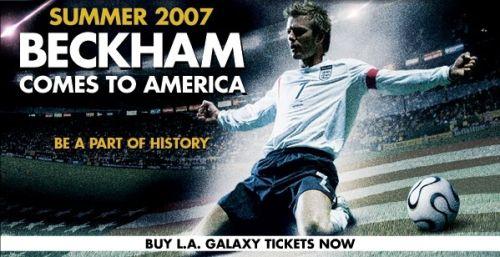 Ad: Beckham comes to America